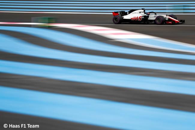Romain Grosjean - Haas F1 - Clasificación GP - Francia 2018