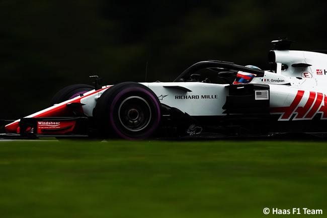 Romain Grosjean - Haas - GP Austria 2018 - Viernes