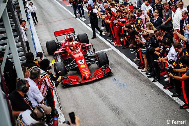 Sebastian Vettel - Scuderia Ferrari - Carrera GP - Canadá 2018