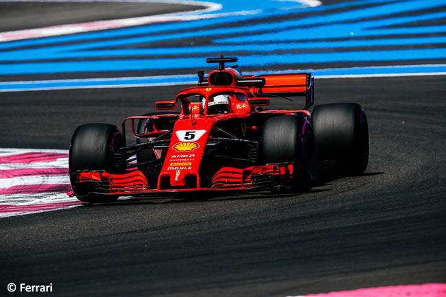 Sebastian Vettel - Scuderia Ferrari - F1 - Clasificación GP - Francia 2018