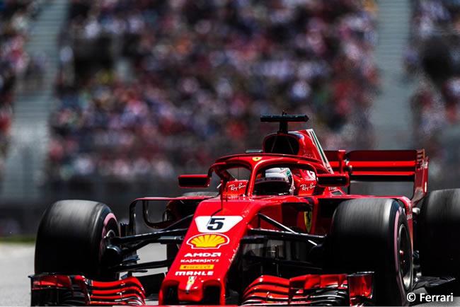Sebastian Vettel - Scuderia Ferrari - Clasificación GP - Canadá 2018