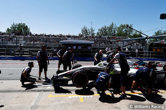 Sergey Sirotkin - Williams - Clasificación GP - Canadá 2018