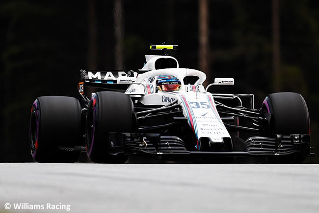 Sergey Sirotkin - Williams - Clasificación - GP Austria 2018