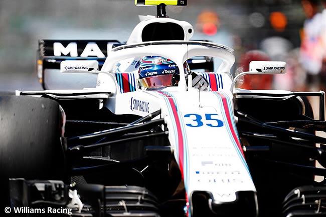 Sergey Sirotkin - Williams - Entrenamientos GP - Canadá 2018