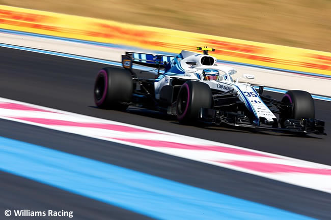 Sergey Sirotkin - Williams - Carrera GP - Francia 2018