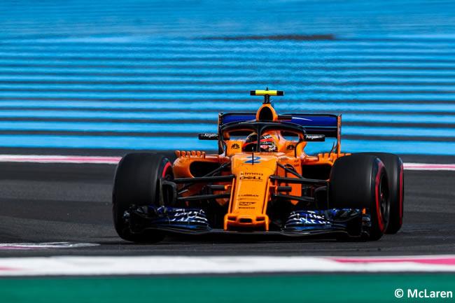 Stoffel Vandoorne- McLaren - Carrera GP - Francia 2018