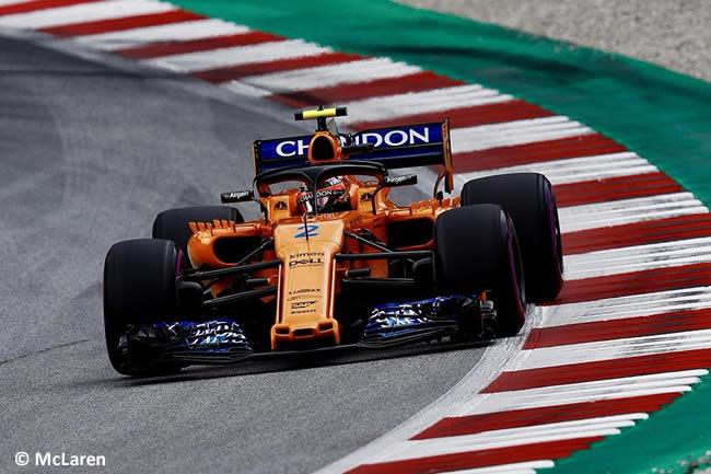 Stoffel Vandoorne - McLaren - GP Austria 2018 - Viernes