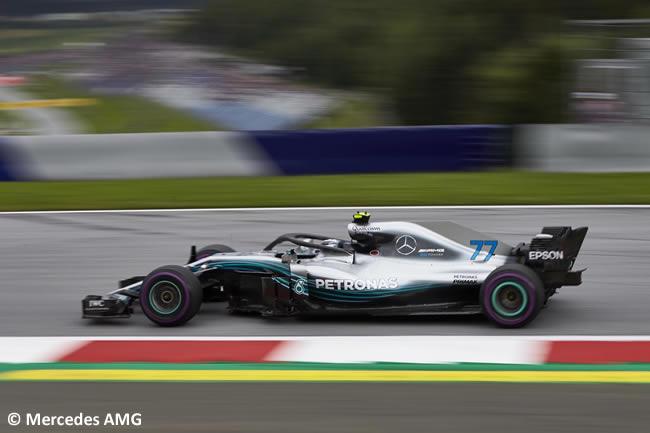 Valtteri Bottas - Mercedes AMG - Clasificación - GP Austria 2018