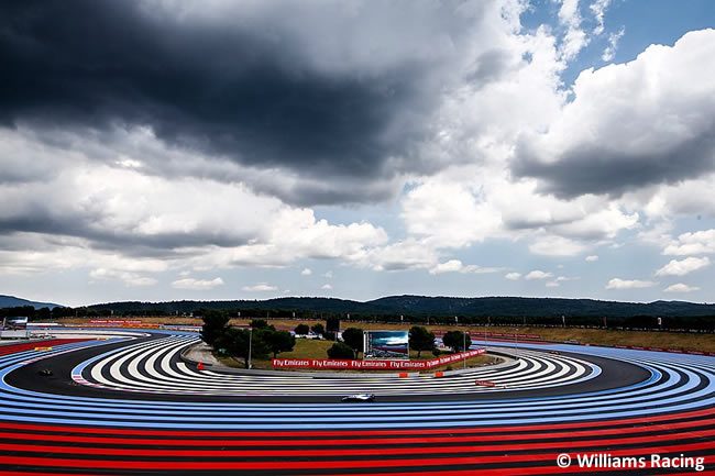 Williams - F1 - Clasificación GP - Francia 2018