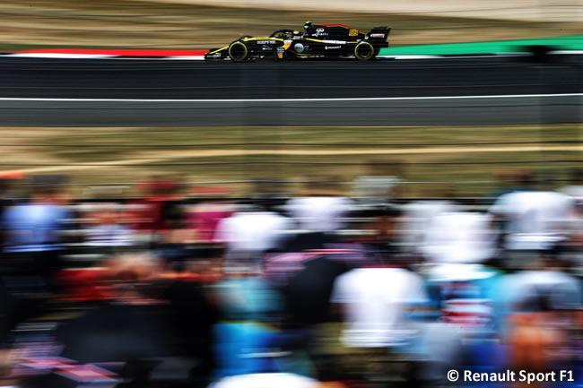 Carlos Sainz - Renault - GP Gran Bretaña 2018 - Clasificación