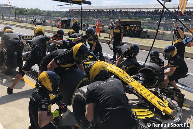 Carlos Sainz - Renault - GP Gran Bretaña 2018 - Entrenamientos
