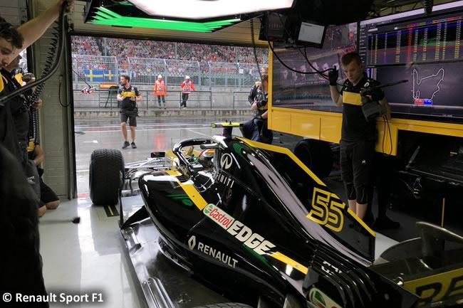 Carlos Sainz - Renault - Clasificación GP Hungría 2018