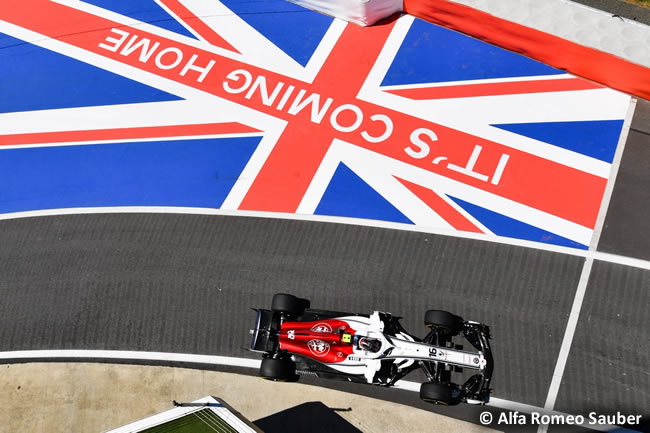 Charles Leclerc - A.R. Sauber - GP Gran Bretaña 2018 - Carrera