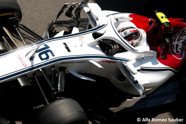 Charles Leclerc - A.R. Sauber - GP Gran Bretaña 2018 - Clasificación