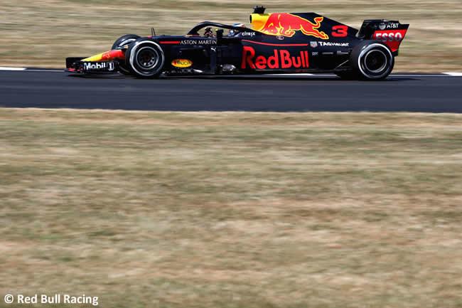 Daniel Ricciardo - Red Bull - GP Gran Bretaña 2018 - Entrenamientos