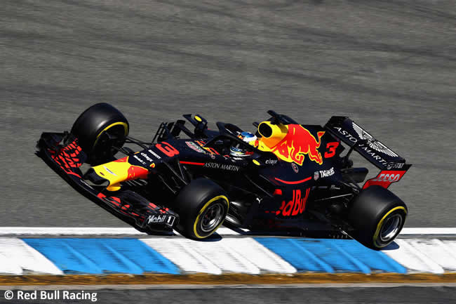 Daniel Ricciardo - Red Bull Racing - Entrenamientos - GP Alemania Hockenheim 2018