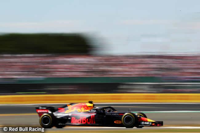 Daniel Ricciardo - Red Bull Racing - GP Gran Bretaña 2018 - Carrera