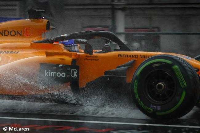 Fernando Alonso - McLaren - Clasificación GP Hungría 2018