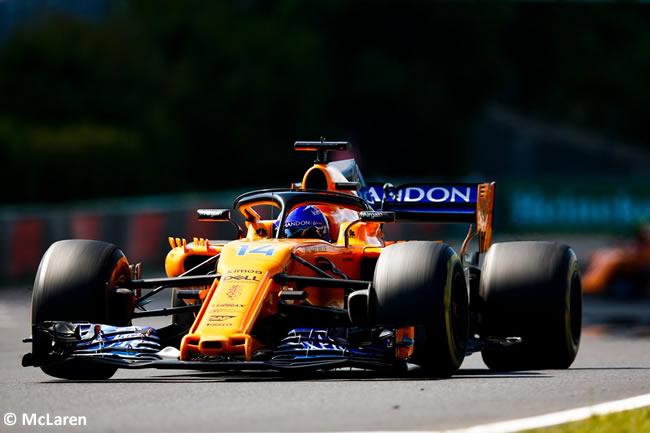 Fernando Alonso - McLaren - Carrera GP Hungría 2018