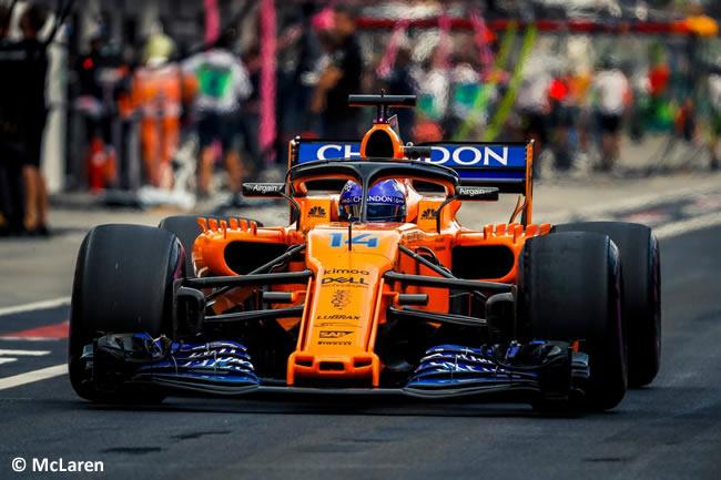 Fernando Alonso - McLaren - Entrenamientos GP Hungría 2018