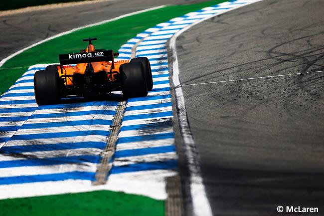 Fernando Alonso - McLaren - Carrera - GP Alemania Hockenheim 2018