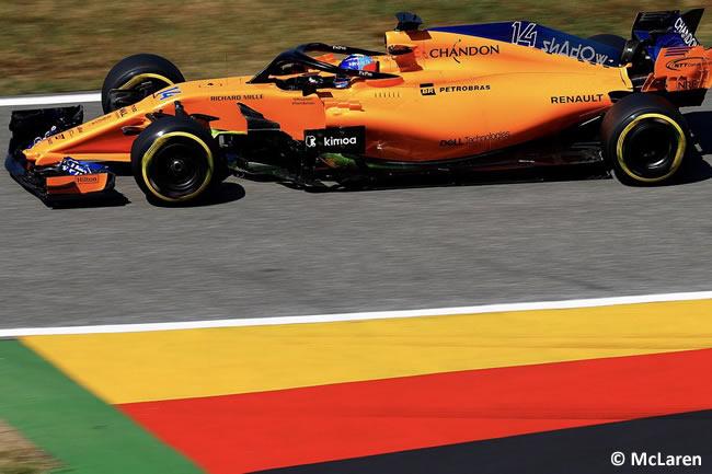 Fernando Alonso - McLaren - Entrenamientos - GP Alemania Hockenheim 2018