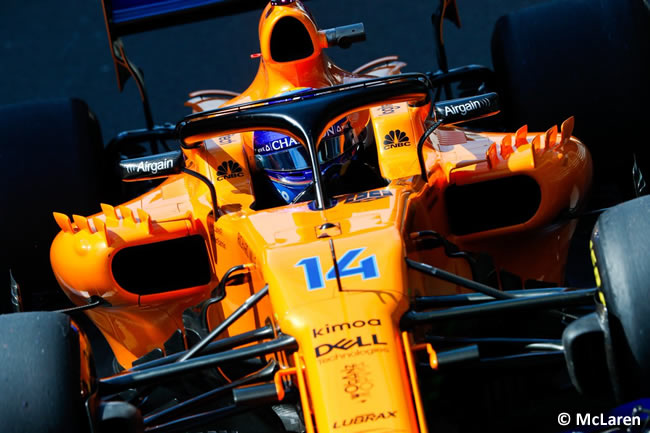 Fernando Alonso - McLaren - GP Gran Bretaña 2018 - Entrenamientos
