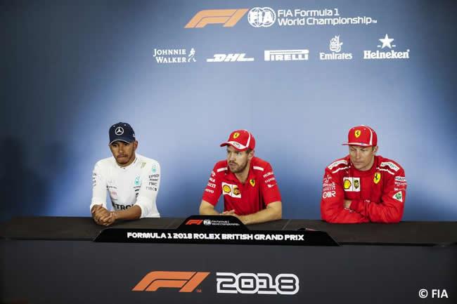 FIA - Rueda de Prensa - GP Gran Bretaña 2018
