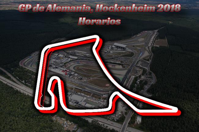 Gran Premio de Alemania - Horarios