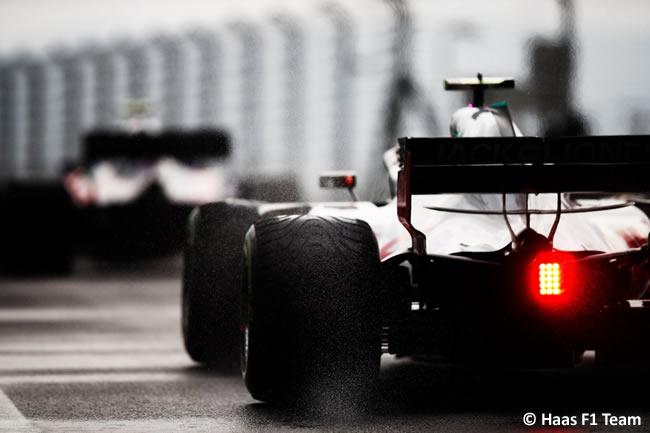 Haas - Clasificación GP Hungría 2018