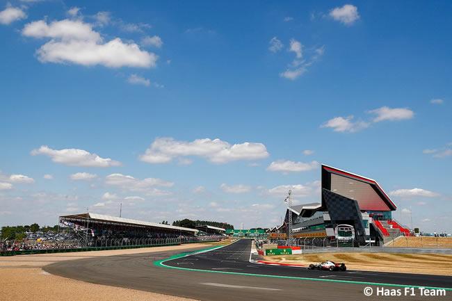 Haas - GP Gran Bretaña 2018 - Carrera