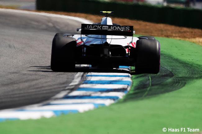 Kevin Magnussen - Haas F1 - Entrenamientos - GP Alemania Hockenheim 2018