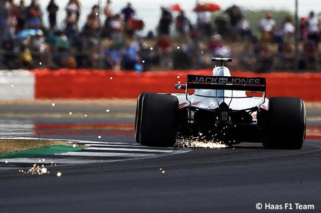 Kevin Magnussen - Haas F1 - GP Gran Bretaña 2018 - Clasificación