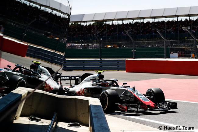 Kevin Magnussen - Haas F1 - GP Gran Bretaña 2018 - Entrenamientos