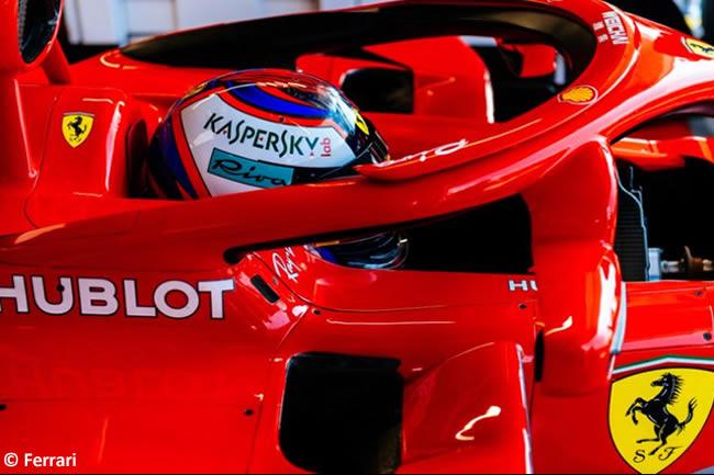 Kimi Raikkonen - Scuderia Ferrari - Clasificación GP Hungría 2018