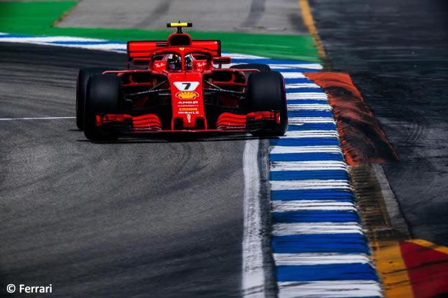 Kimi Raikkonen - Scuderia Ferrari - Carrera - GP Alemania Hockenheim 2018