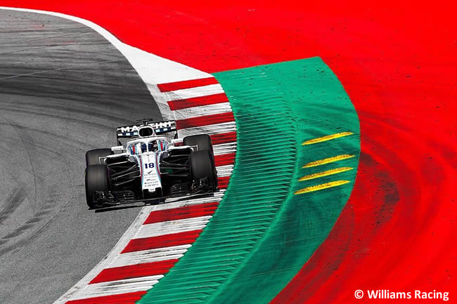 Lance Stroll - Williams - Carrera GP Austria 2018