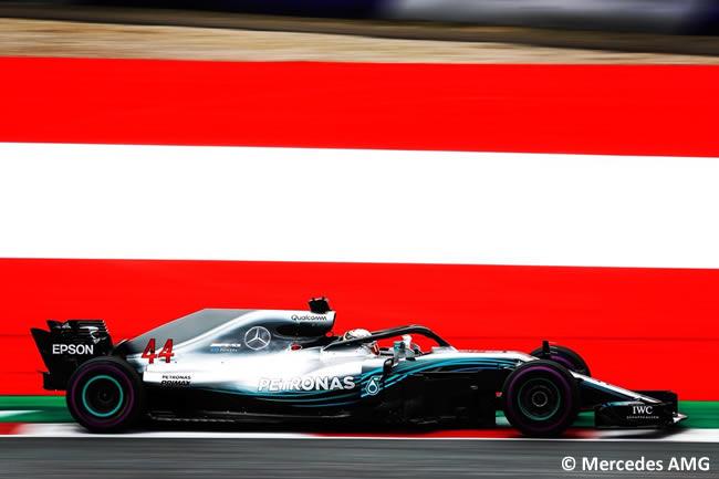 Lewis Hamilton - Mercedes - Carrera GP Austria 2018