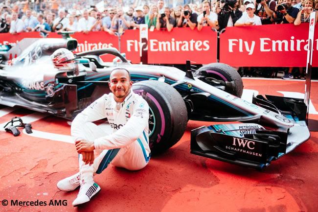 Lewis Hamilton - Mercedes AMG - Carrera - GP Alemania Hockenheim 2018