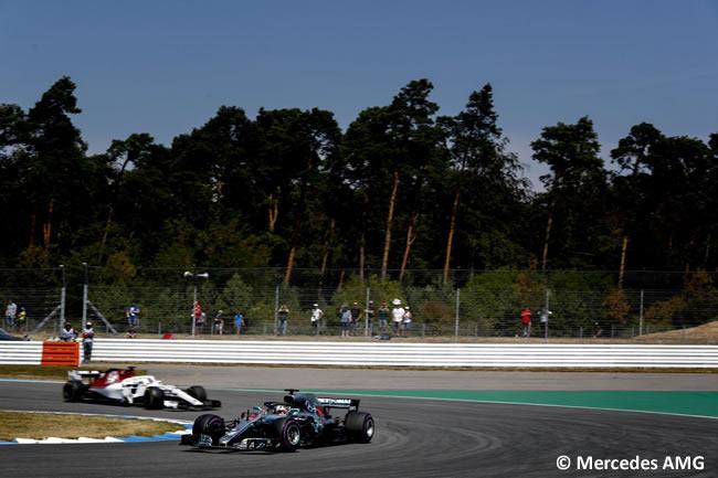 Lewis Hamilton - Mercedes AMG - Entrenamientos - GP Alemania Hockenheim 2018
