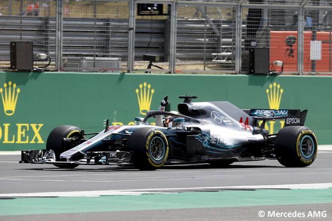 Lewis Hamilton - Mercedes AMG - GP Gran Bretaña 2018 - Clasificación