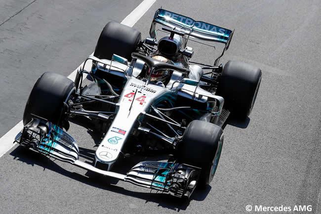 Lewis Hamilton - Mercedes AMG - GP Gran Bretaña 2018 - Entrenamientos