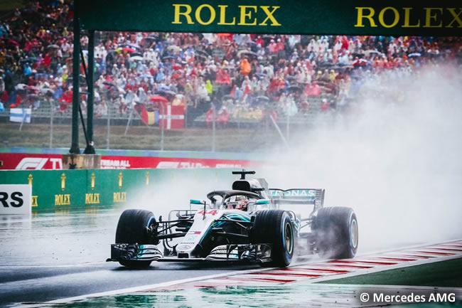 Lewis Hamilton - Mercedes AMG - Clasificación GP Hungría 2018