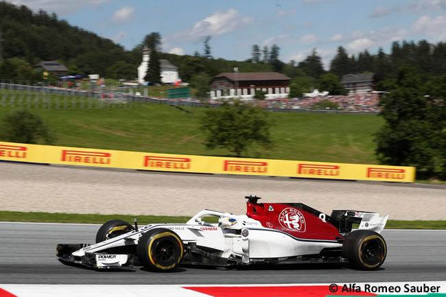Marcus Ericsson - Alfa Romeo Sauber - Carrera GP Austria 2018
