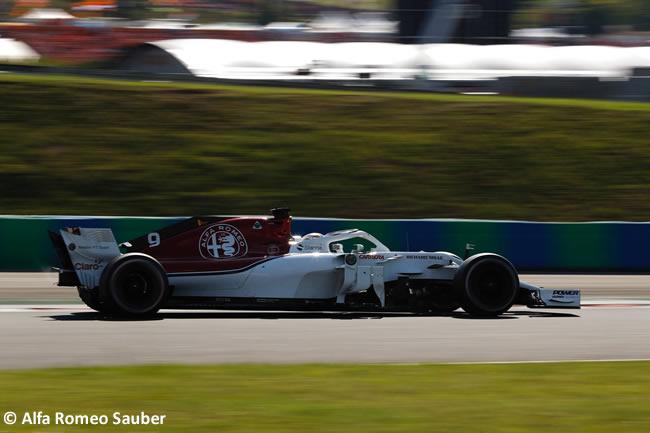 Marcus Ericsson - Sauber - Carrera GP Hungría 2018