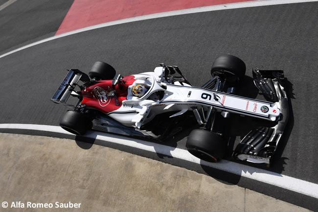 Marcus Ericsson - Sauber - GP Gran Bretaña 2018 - Entrenamientos