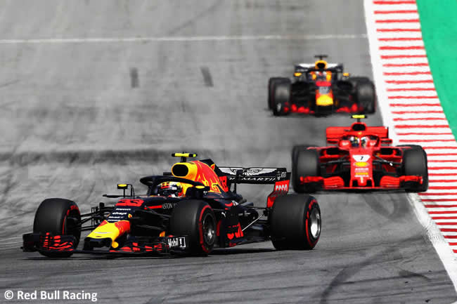 Max Verstappen - Red Bull Racing - Carrera GP Austria 2018