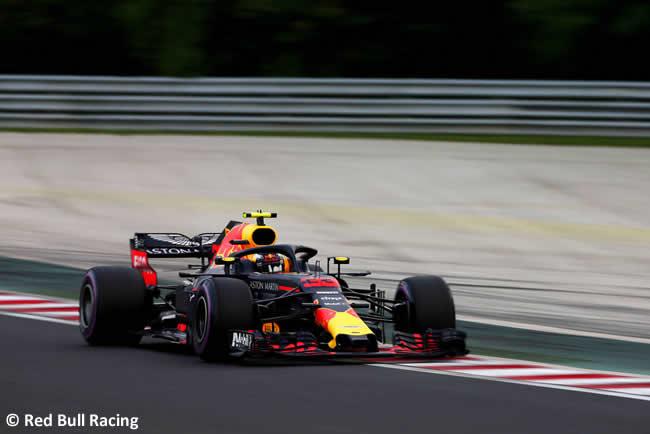 Max Verstappen - Red Bull - Entrenamientos GP Hungría 2018