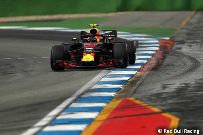 Max Verstappen - Red Bull - Carrera - GP Alemania Hockenheim 2018
