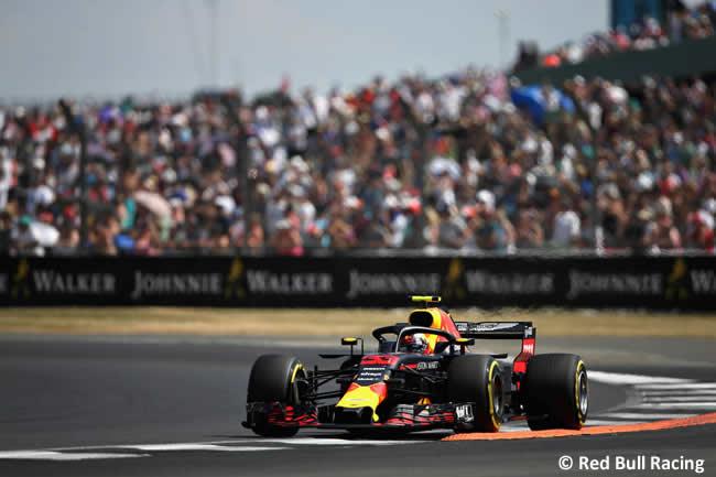 Max Verstappen - Red Bull Racing - GP Gran Bretaña 2018 - Clasificación